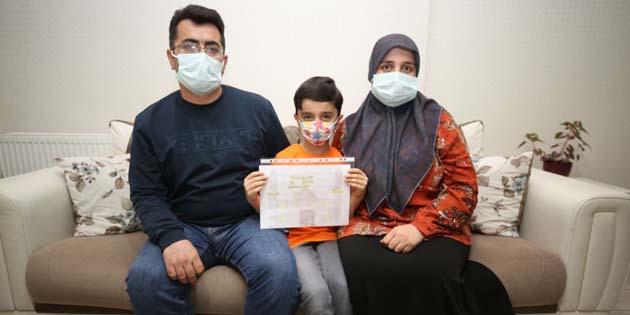 Vali Aydoğdu 8 yaşındaki çocuğun isteğine kayıtsız kalmadı
