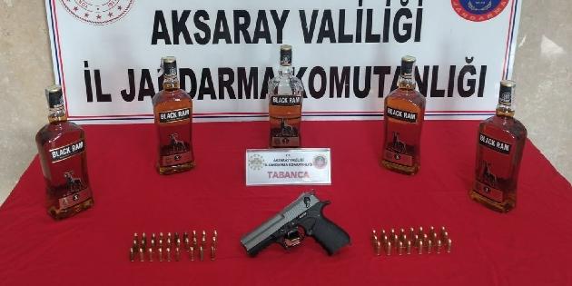 Silah ve mühimmat ticareti yapan 2 kişi yakalandı