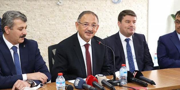 Özhaseki, Aksaray Belediyesi'nin projelerini değerlendirdi