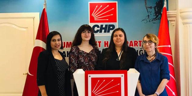 CHP Kadın Kolları: İstanbul Sözleşmesi'nden vazgeçmiyoruz
