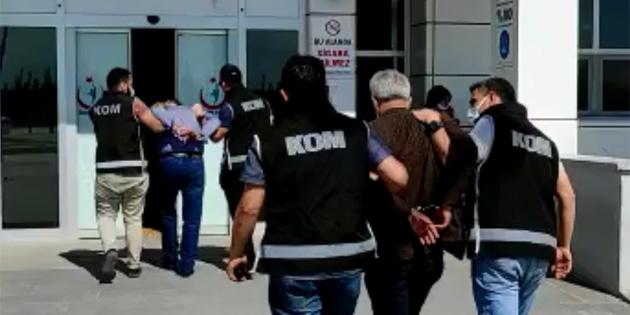 Aksaray'da dolandırıcılık operasyonu: 2 gözaltı