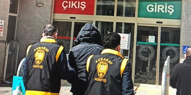 Aksaray'da hırsızlık zanlısı 3 kişi tutuklandı