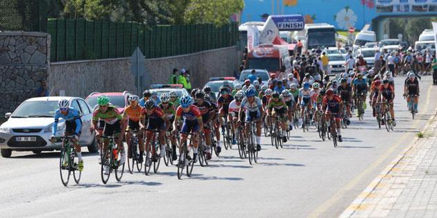 Yunus Emre Türkiye Bisiklet şampiyonası Aksaray'da başladı