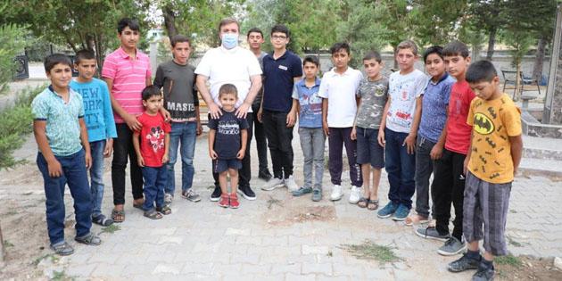 Vali Hamza Aydoğdu'dan köylere ziyaret