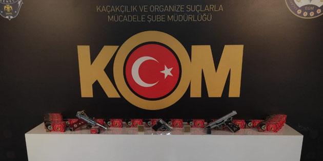 Aksaray'da yasa dışı silah satışı: 1 gözaltı