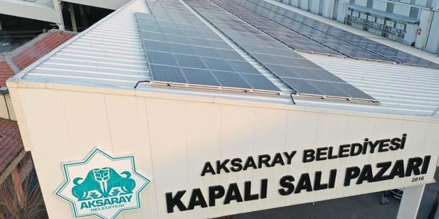 Güneş enerjisinden 1,5 yılda 2,5 milyon TL gelir elde edildi