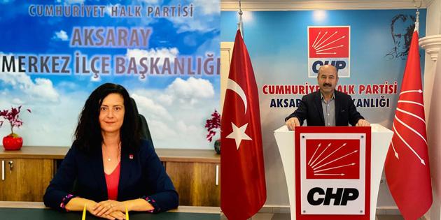 CHP Merkez İlçe Başkanlığında görev değişimi