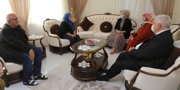 Emine Aydoğdu'dan Şehit ailelerine ziyaret