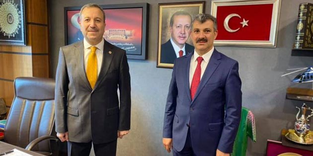 Ak Parti İl Başkanı'ndan Ankara'da bir dizi ziyaretler