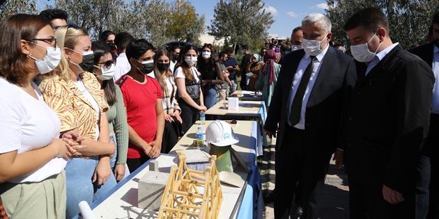 Aksaray Üniversitesi İğde Hasat Şenliği başladı