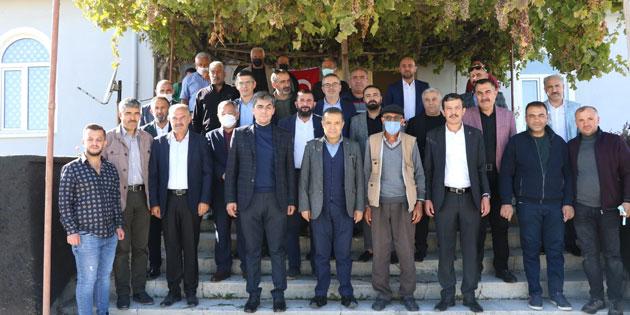 Milletvekili Aydoğdu, köy ziyaretlerini sürdürüyor